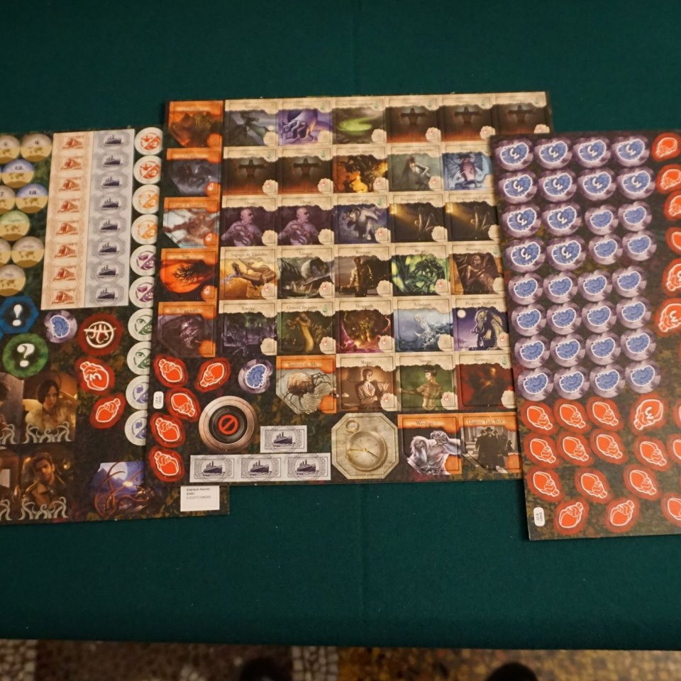 Eldritch Horror fustelle