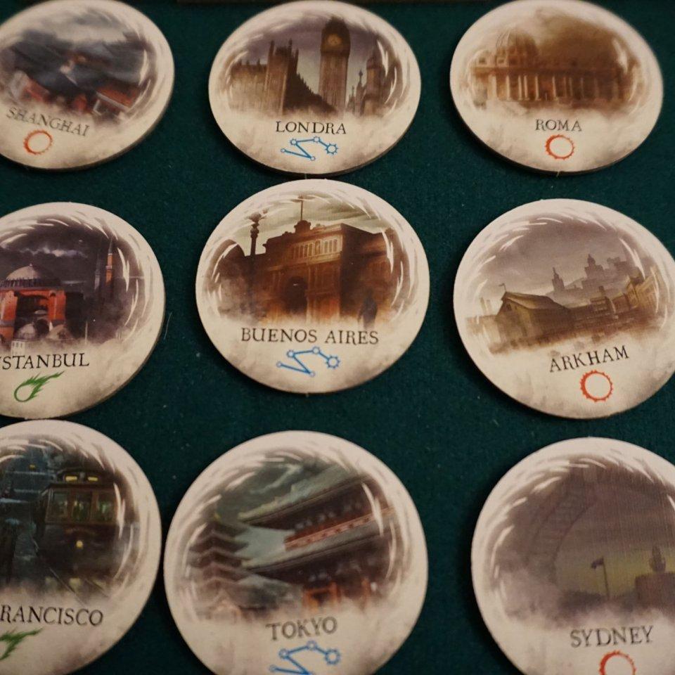 Eldritch Horror token portali