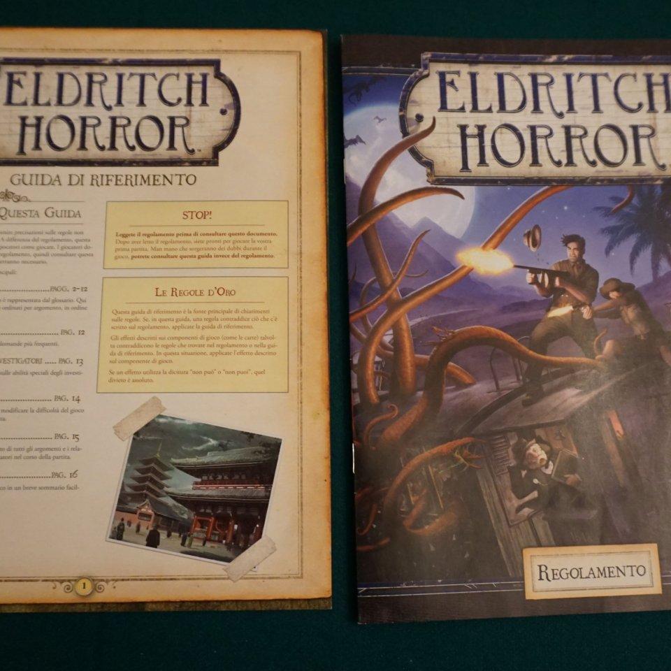 Eldritch Horror istruzioni