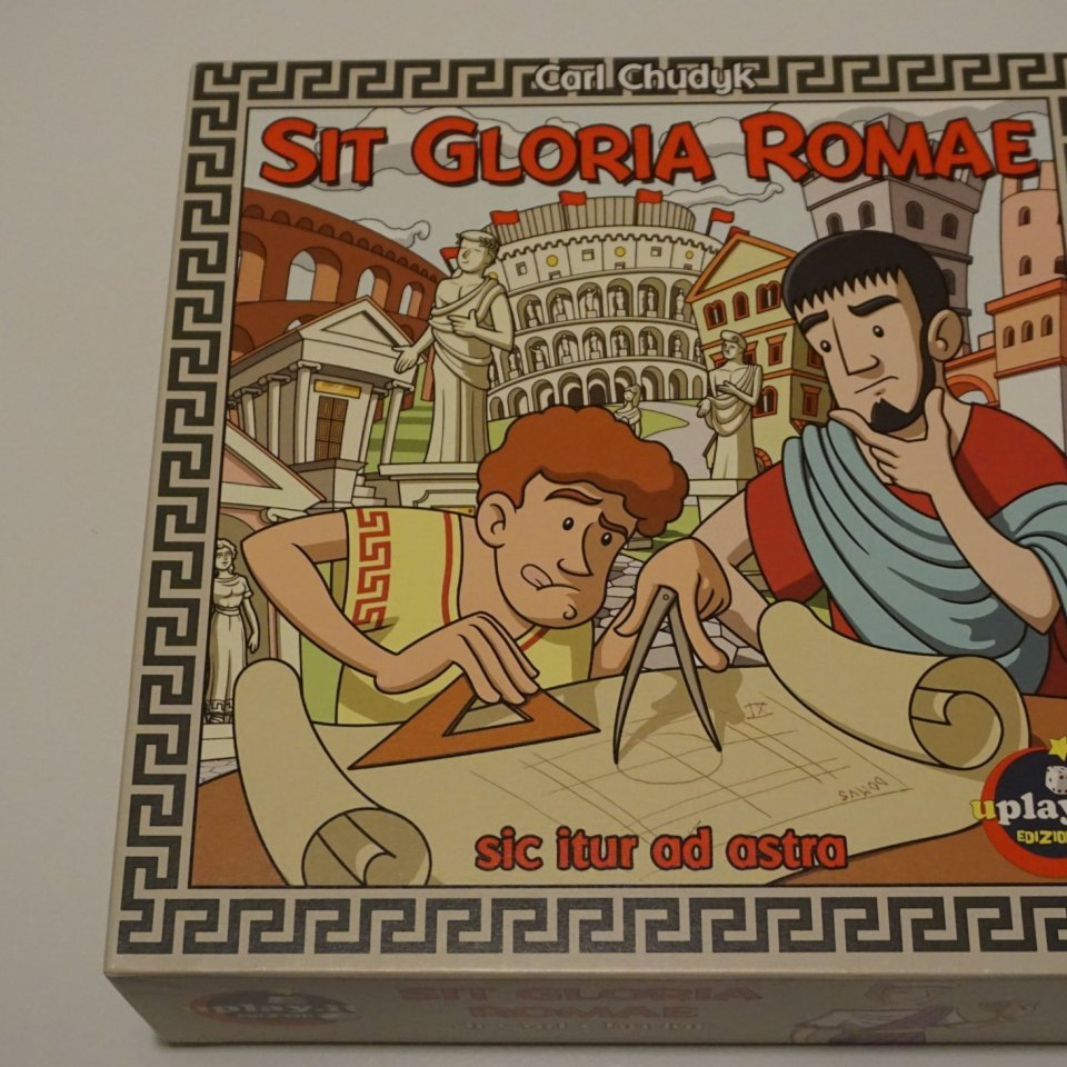 Sit Gloria Romae Scatola