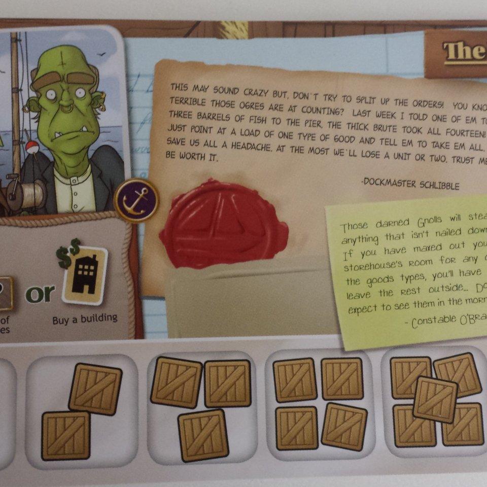 Personaggio del gioco da tavolo Harbour
