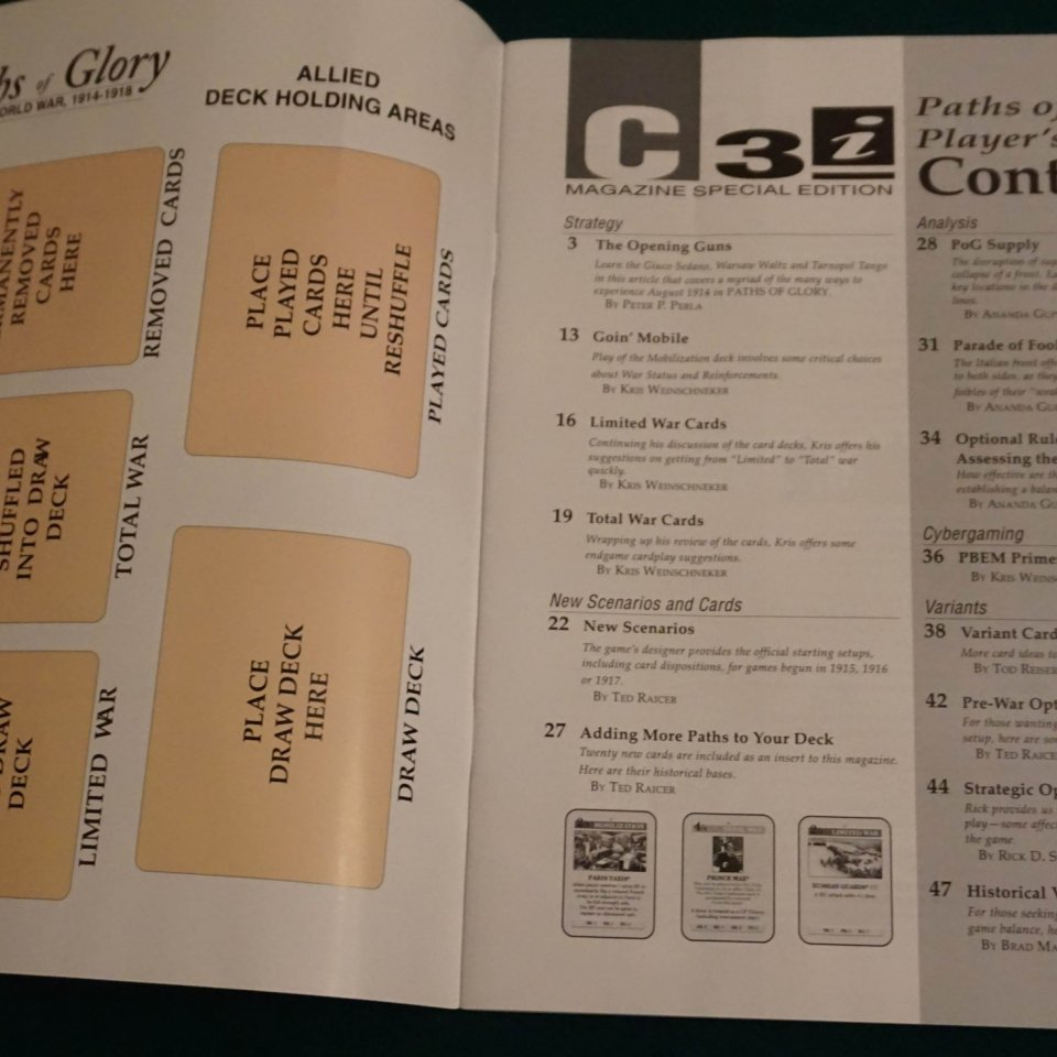 Paths of Glory Player's Guide
