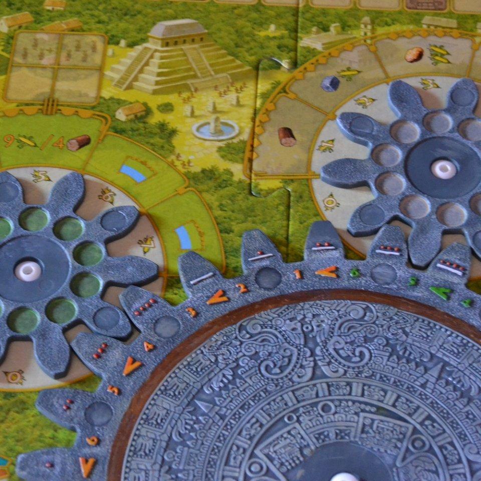 Tzolk'in 4 - Completiamo le ruote aggiungendo i dettagli (3)