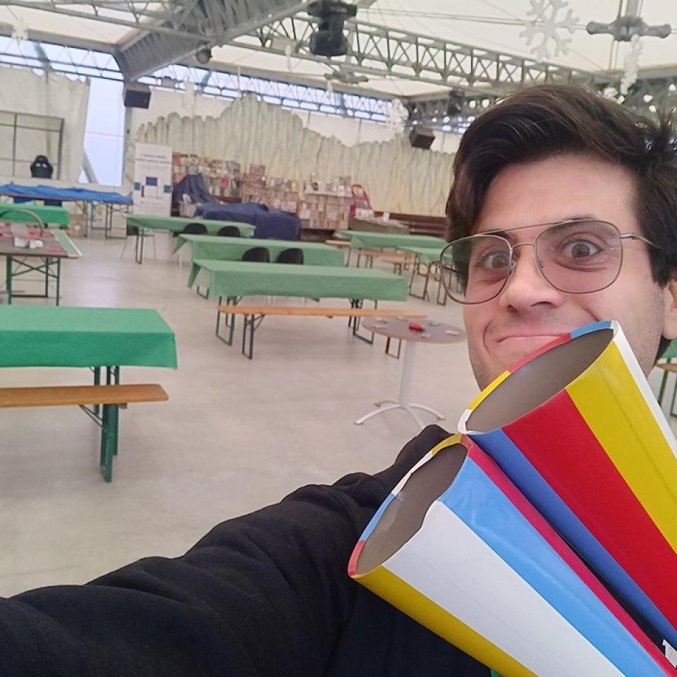 GiocaPerugia 2019 Max e la trombetta