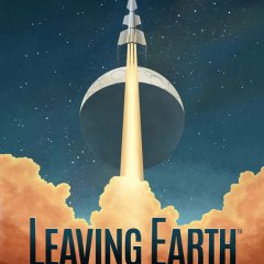 Copertina di Leaving Earth