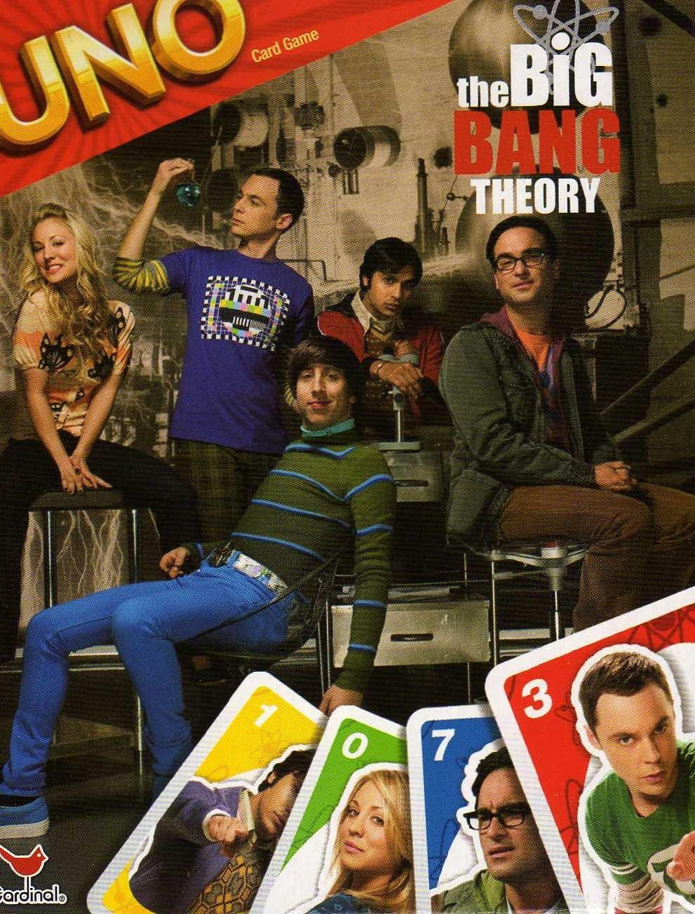 Uno the big bang theory gioco da tavolo gdt tana - Gioco da tavolo bang ...