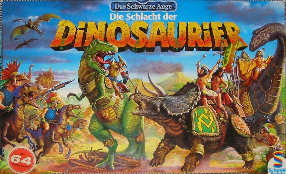 Die Schlacht Der Dinosaurier Gioco Da Tavolo Gdt