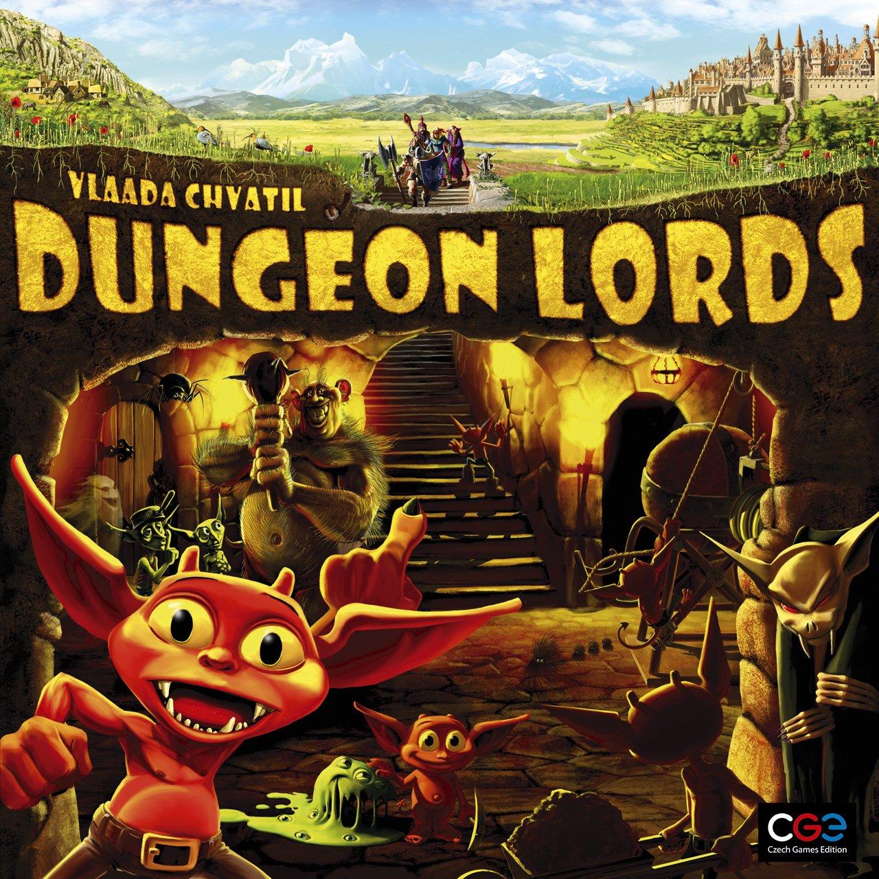 Dungeon lords gioco da tavolo gdt tana dei goblin - Dungeon gioco da tavolo ...
