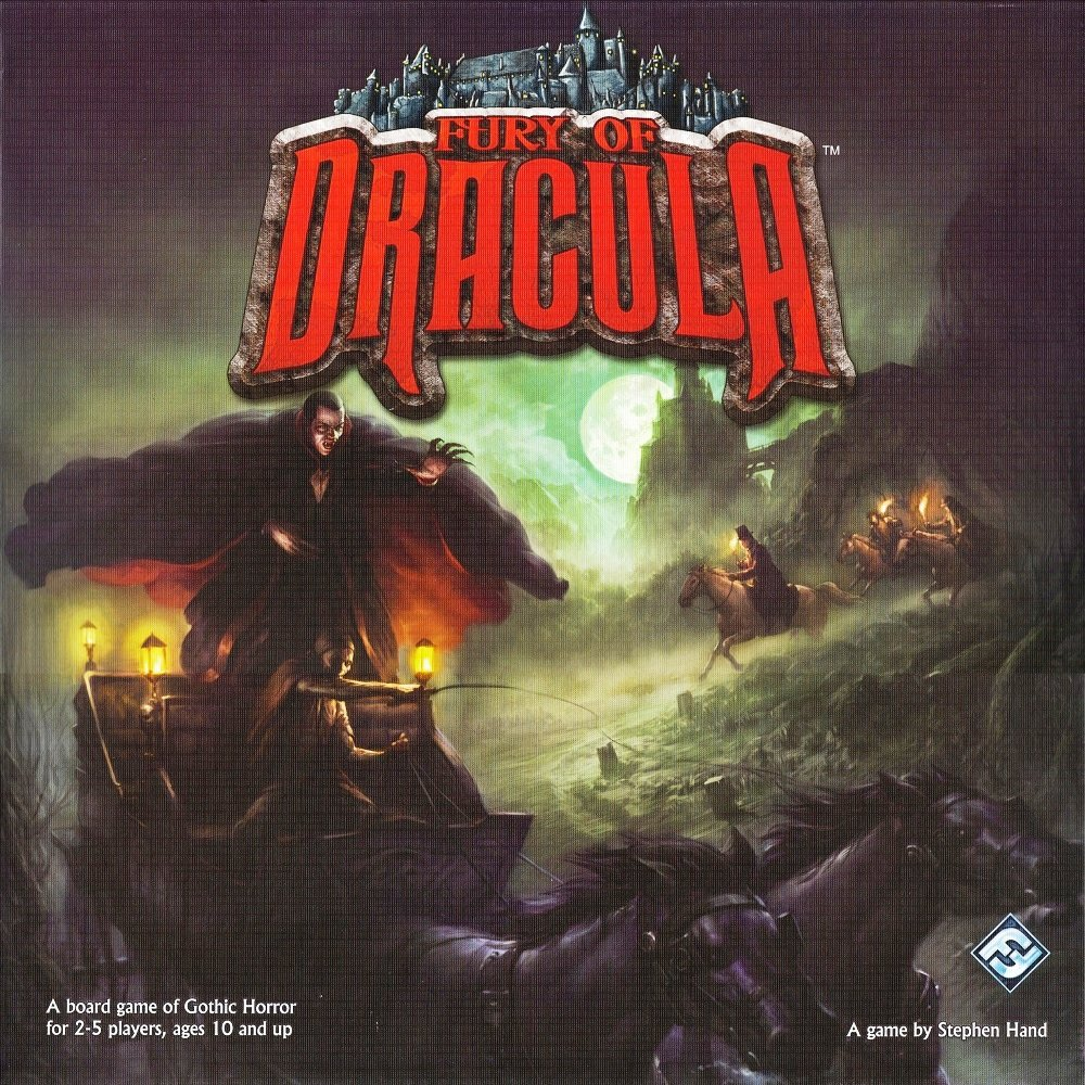 Fury Of Dracula Second Edition Gioco Da Tavolo Gdt