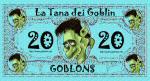La nuova banconota da 20 Goblons!