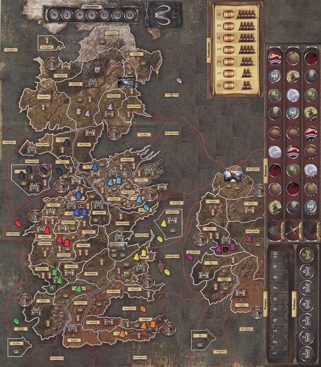 Il trono di spade in 12 introduzione e link la tana dei - Trono di spade gioco da tavolo ...